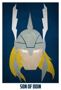 Superheroes and villains minimal art posters (16)