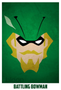 Superheroes and villains minimal art posters (2)